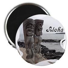 Place of Refuge Tikis Aloha Magnet