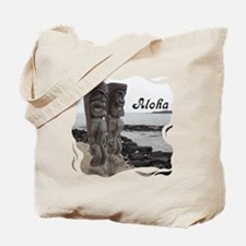 Place of Refuge Tikis Aloha Tote Bag