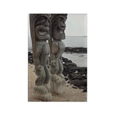 Place of Refuge Tikis Rectangle Magnet