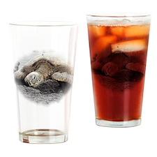 Honu Sea Turtle Drinking Glass