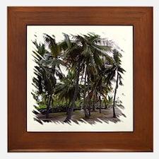 Place of Refuge Palms Framed Tile