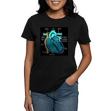 Human Heart Anatomy Tee