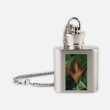 Bird of Paradise Flask Necklace