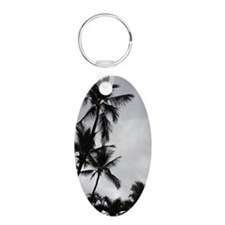 Palm Trees Silhouette Keychains