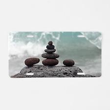 Ocean Serenity Aluminum License Plate
