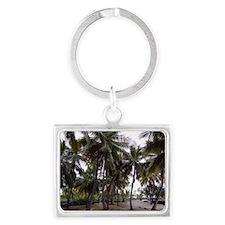 Place of Refuge Palms Landscape Keychain