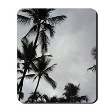 Palm Trees Silhouette Mousepad