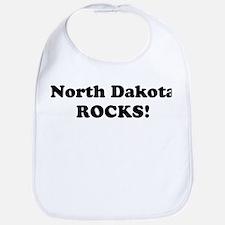 North Dakota Rocks! Bib