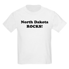 North Dakota Rocks! Kids T-Shirt