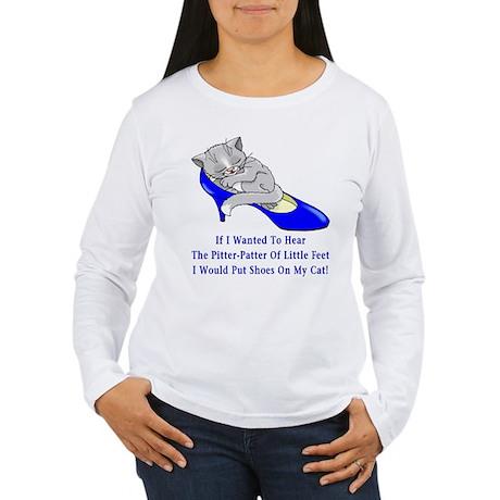 Cat Shoes Women's Long Sleeve T-Shirt