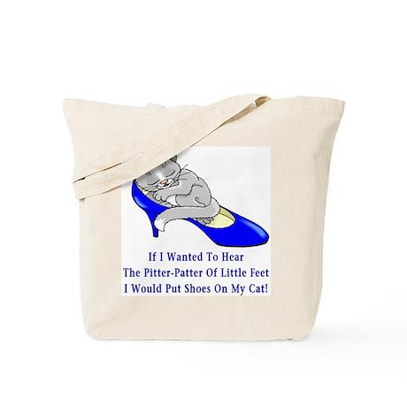 Cat Shoes Tote Bag
