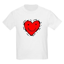 Smiling Heart Kids T-Shirt