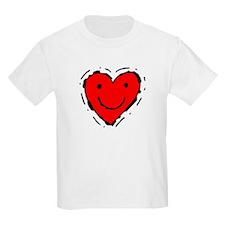 Smiling Heart Kids T-Shirt