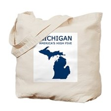 Cute Michigan Tote Bag