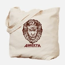 Asreeth Lion Warrior Headshot Tote Bag