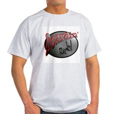 Boardin' Rocks! Ash Grey T-Shirt