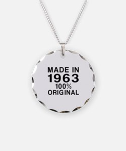 Made In 1963 Necklace