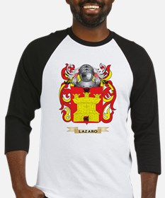 Lazaro Coat of Arms - Family Crest Baseball Jersey