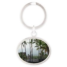 Place of Refuge02 Oval Keychain