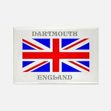Dartmouth England Rectangle Magnet