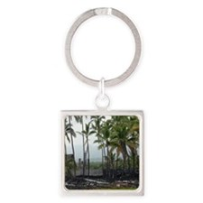 Place of Refuge02 Square Keychain