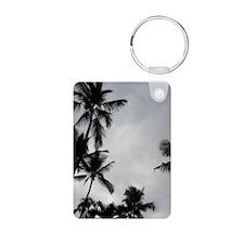 Palm Tree Silhouette Keychains