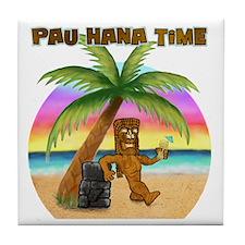 Pau Hana Tiki Tile Coaster