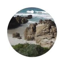 California Ocean 03 Round Ornament