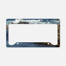 California Ocean 02 License Plate Holder