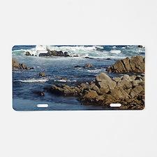 California Ocean 02 Aluminum License Plate