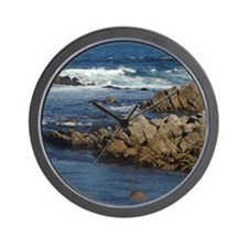California Ocean 02 Wall Clock