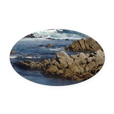 California Ocean 02 Oval Car Magnet