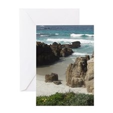California Ocean 03 Greeting Card