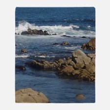 California Ocean 02 Throw Blanket