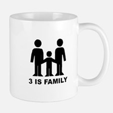 3 is family (first baby) Mug