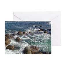 California Ocean 01 Greeting Card
