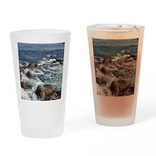 California Ocean 01 Drinking Glass