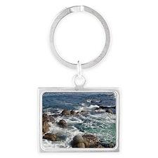 California Ocean 01 Landscape Keychain