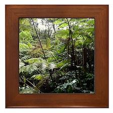 Tropical Jungle Framed Tile
