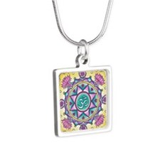 Rangoli Om Mandala Necklaces