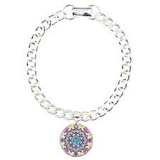 Rangoli Om Mandala Charm Bracelet, One Charm