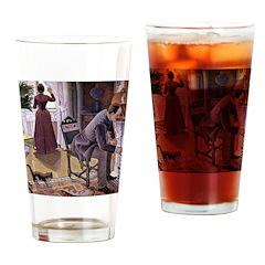 Dimanche (Sunday) Drinking Glass