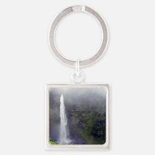 Akaka Falls Square Keychain
