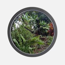 Tropical Jungle 3 Wall Clock