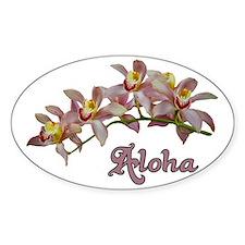 Aloha Flowers Decal