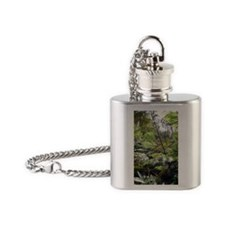Tropical Jungle Flask Necklace