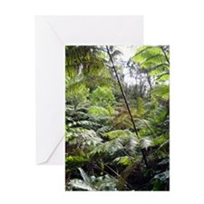 Tropical Jungle Greeting Card