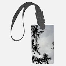 Palm Trees Silhouette Luggage Tag