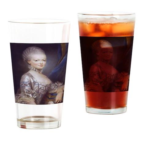 Marie Antoinette Drinking Glass