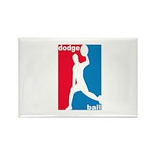 Dodgeball Association Rectangle Magnet